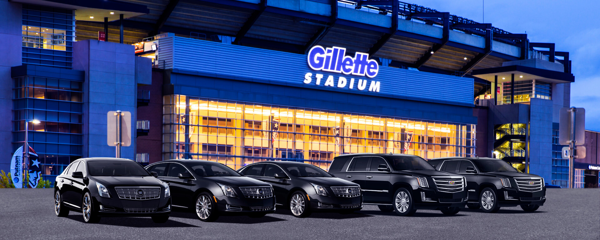 Limo Service Boston to Gillette Stadium